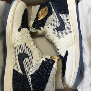 8e25bd9d0dd2f Nike Shoes - Air Jordan 1 Derek Jeter Flyknit